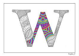 armenian alphabet coloring pages adult coloring pages zentangle alphabet w printable coloring