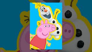 disney elsa frozen olaf peppa pig peppa pig games