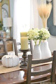 Fall Dining Room Table Decorating Ideas Fall Dining Room Table Decor Balancing Home With Megan Bray
