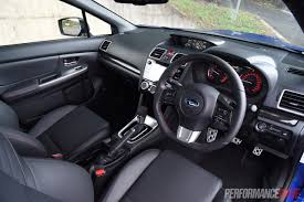 2017 subaru impreza sedan interior 2016 subaru wrx review manual u0026 cvt auto video performancedrive