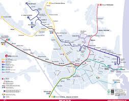 Prague Metro Map by Metro Maps