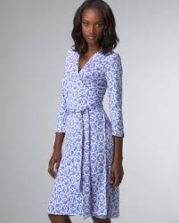diane von furstenberg blue wrap dress celebrities who wear use