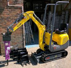 hydraulic breaker 1 u00261 5 tonne mini excavators wellers hire