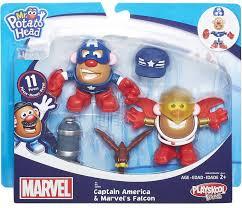 Potato Head Kit Disguise Marvel Playskool Friends Captain America Marvels Falcon Potato