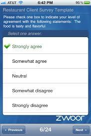 restaurant survey via mobile apps mobile apps for conferences