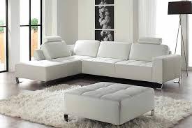 canapé d angle blanc cuir canape angle cuir blanc royal sofa idée de canapé et meuble maison