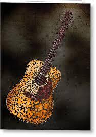 guitar greeting cards america