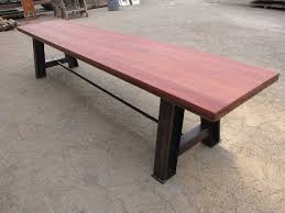 Vintage Redwood Patio Furniture - rodney strong old growth redwood wine tank stave table top