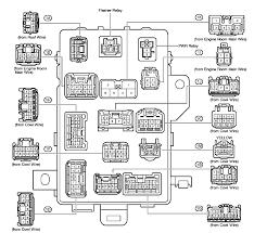 toyota tacoma fuse box diagram image details