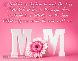 happy mothers day poem with pics mothersday quotes pinterest