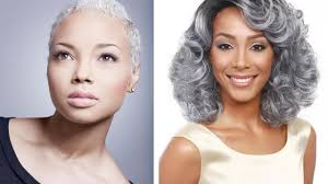 look beautiful of 86 natural gray hairstyles for black women try