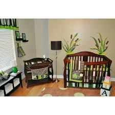 Mod Pod Pop Monkey Crib Bedding by Nursery Room Ideas July 2012
