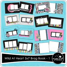 5x7 brag book at heart 5x7 brag book set 1 5 99 as you wish designs