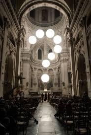 robert stadler s light installation at st paul st louis church
