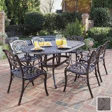 Wrought Iron Patio Dining Set Brilliant Cast Iron Patio Furniture Aluminum Versus Wrought Dining