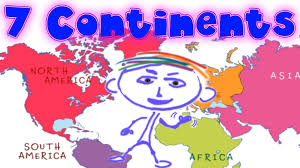 Map Of The 7 Continents Geography Explorer Continents Interesting And Educational