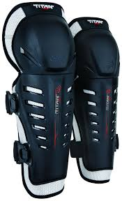 fox motocross body armour fox racing titan race knee shin guards revzilla