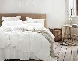 White Linen Duvet White Linen Duvet Cover With Purple Border Cal King Duvet