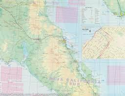 San Carlos Mexico Map by Map Of Baja California Mexico Itm U2013 Mapscompany