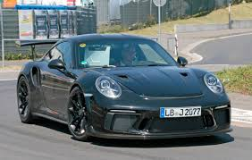 porsche 911 gt3 rs facelift for 2018 more power more pedals by