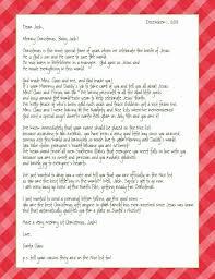Printable Santa List Templates Letter From Santa Spreading The Good Word Of Jesus Birth 4