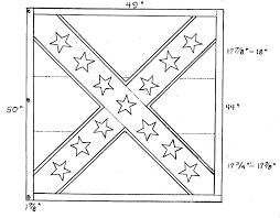 American Flag Specs Civil War Flag Colouring Pages Confederate Flag Coloring Page