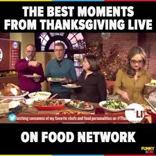 or die the food network s thanksgiving live went