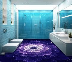 aliexpress com buy 3d floor purple cusom 3d adhesive for