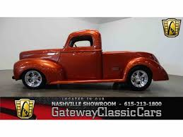 1952 Ford Truck Vintage Air - 1940 ford pickup for sale on classiccars com 17 available