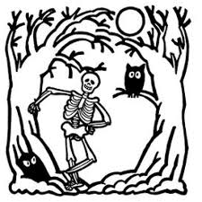 halloween coloring page pdf coloring page