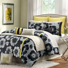 home design comforter home design mainstays yellow grey chevron bed in a bag bedding