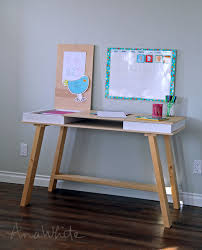 Sawhorse Trestle Desk Ana White Sawhorse Storage Leg Desk Diy Projects
