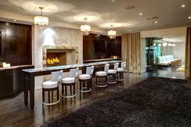 modern kitchen chandelier interior design wonderful modern kitchen design with dark wood