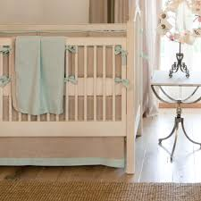 light blue linen crib bedding baby boy linen crib bedding