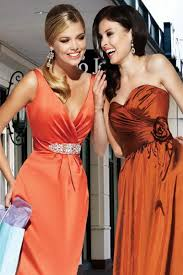 red and orange bridesmaid dresses fashion trends styles for 2014