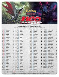 enjoy a full set of pokemon tcg printable checklists but some are