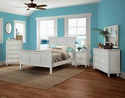 Distressed White Bedroom Furniture by Monaco Casual Bedroom Collection Blanc Sea Winds Trading Co