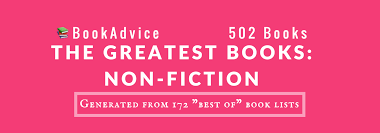 the greatest books non fiction u2013 bookadvice u2013 medium