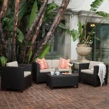 Black Outdoor Furniture by Patio Black Wicker Patio Furniture Home Interior Design