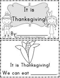printable thanksgiving pages from books for kinder happy