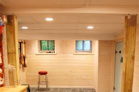 Easy Basement Ceiling Ideas ideas for finishing basement walls basement wall finishing panels