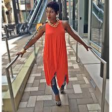 orange black summer dress shirt 2015 casual women dress