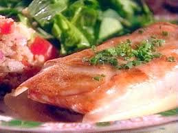 lemon beurre blanc recipe potato crusted alaskan salmon with arugula quinoa salad and lemon