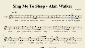 Sheet Music Covers by Sing Me To Sleep By Alan Walker Mace Music Covers Youtube
