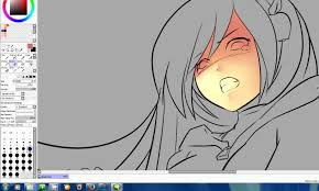 drawing anime wacom paint tool sai skin shading youtube