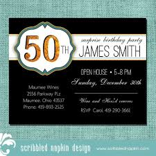 fabulous 50th birthday invitations with 50th birthday invitations