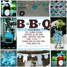 coed baby shower favors coed baby shower ideas square blue simple casual invitation card