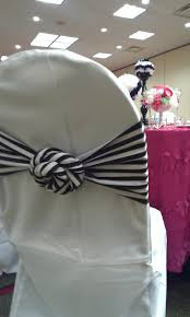 chair tie backs wedding fabric flowers letters