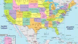 United States Map With States by Us Map Wallpapers Wallpaper Cave Usa Map Bing Images Usa Map