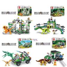 lego jurassic world jeep 1 set jurassic world tyrannosaurus building blocks dinosaur